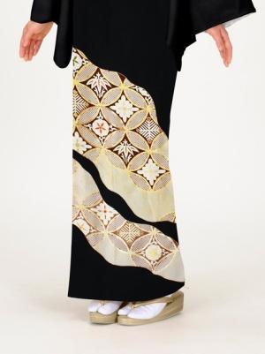 七宝繋ぎ(しっぽうつなぎ)の留袖