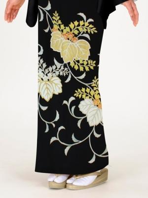 踊り桐の留袖